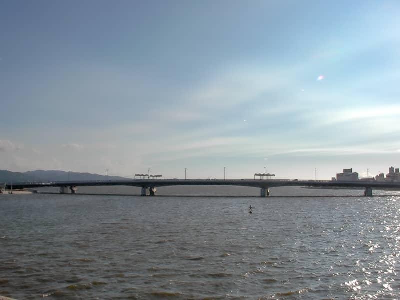 59宍道湖に繋がる