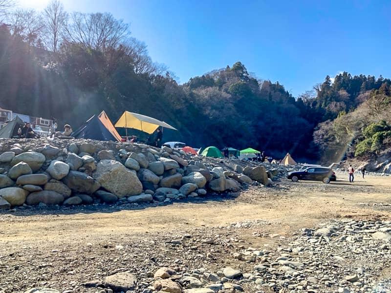 「青野原-野呂ロッジキャンプ場」のサイトレビュー