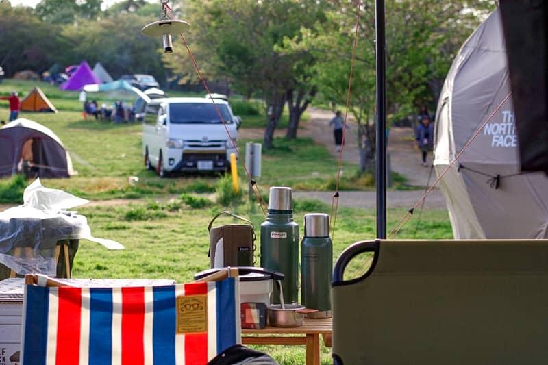 キャンプ場は標高の高い場所を避ける