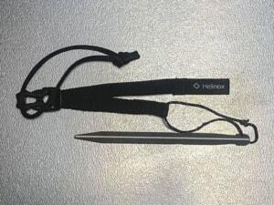 ヘリノックス「チェアアンカー」レビュー!大事なチェアを風から守る便利ギア