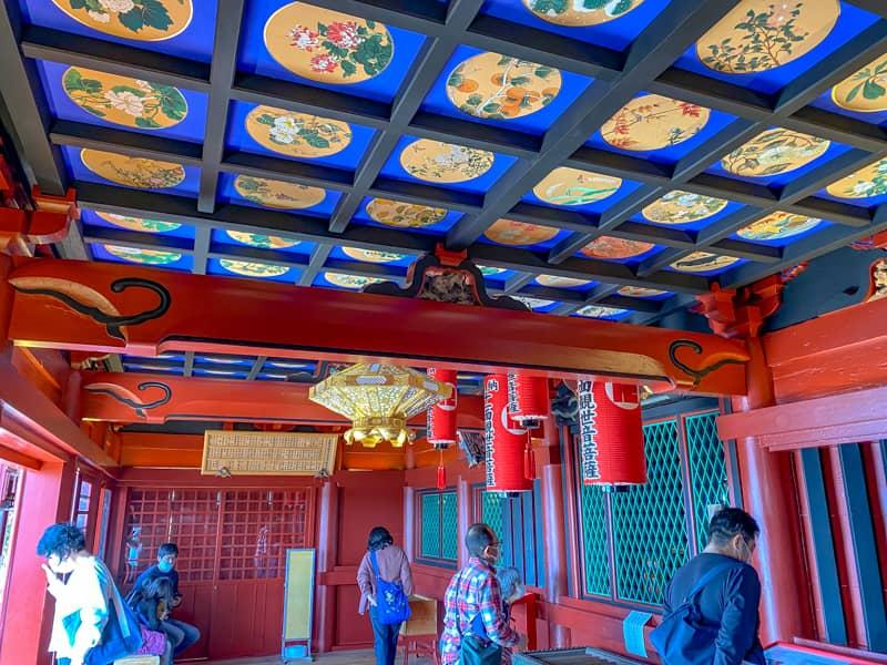 大福寺のお堂の中の様子