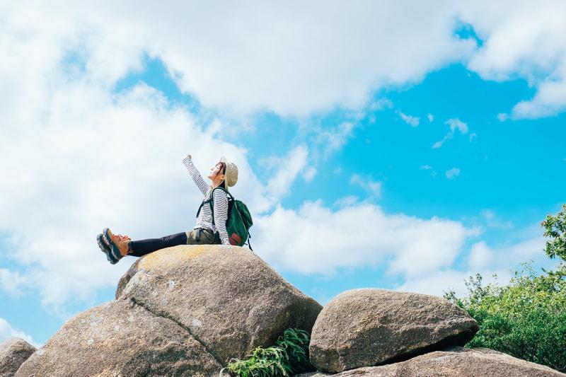 女性の一人登山