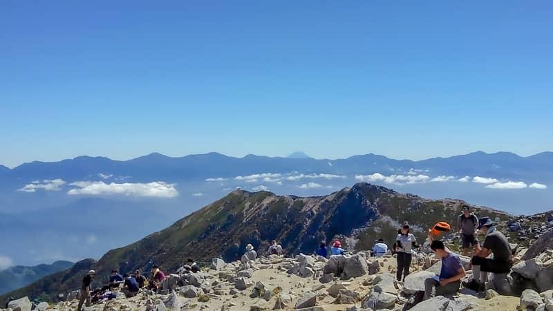 富士山と南アルプス-1
