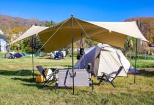 100%コットンのオシャレタープ「Canvas Camp クラシックシェルター」レビュー