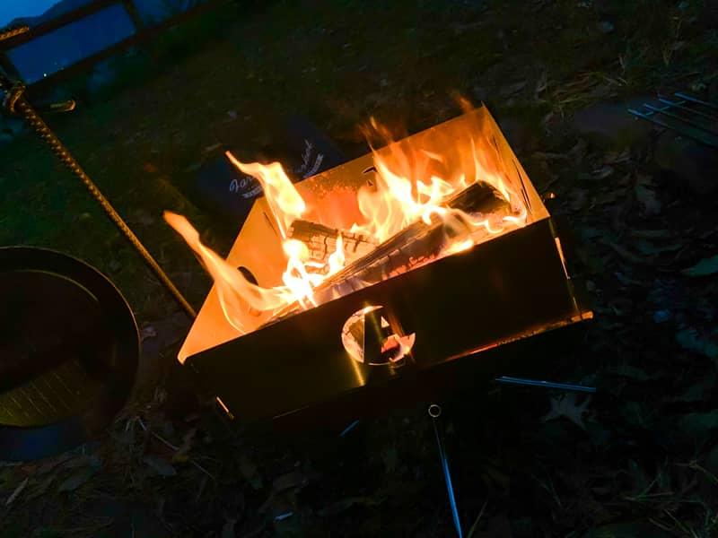 焚き火のイメージ