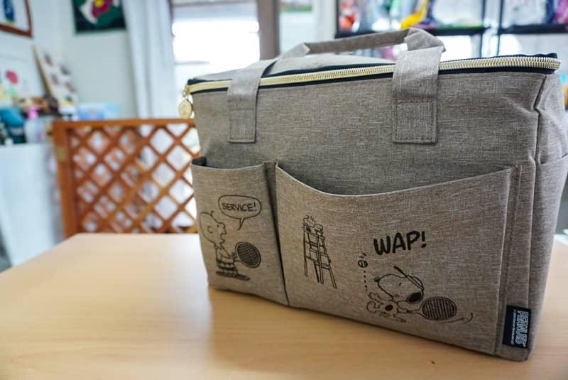 犬用旅行バッグ単体の写真