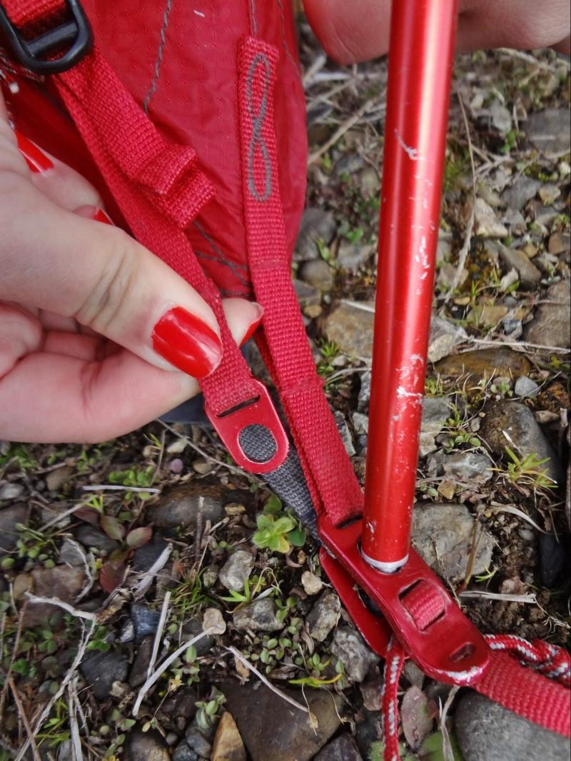 赤い紐は赤同士で合わせる