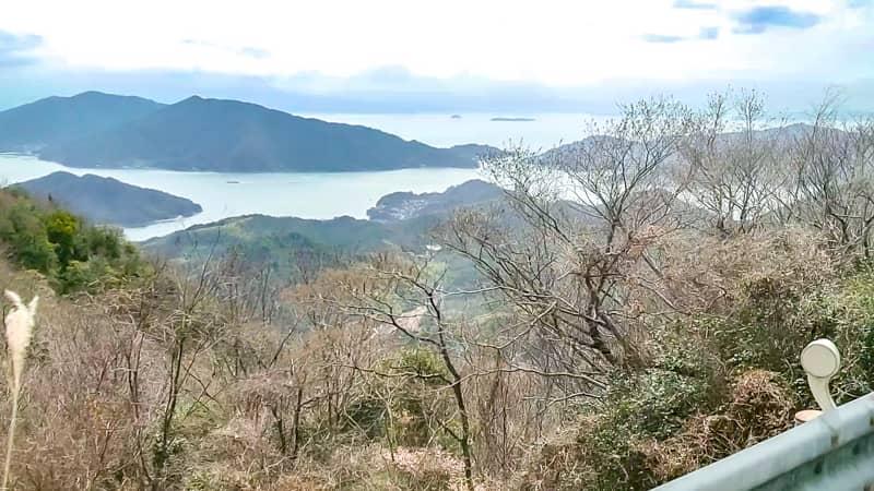 野呂山へ行く途中の景色