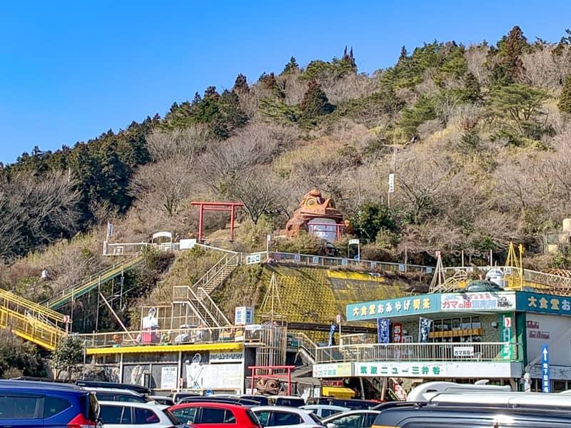 1.筑波山つつじヶ丘駐車場