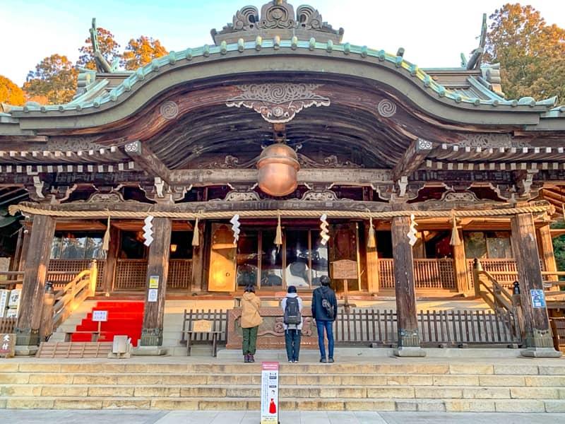 1.筑波山神社拝殿