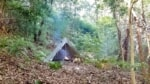 ブッシュクラフトを楽しむ!野営感たっぷりのキャンプ場大瀬テント村