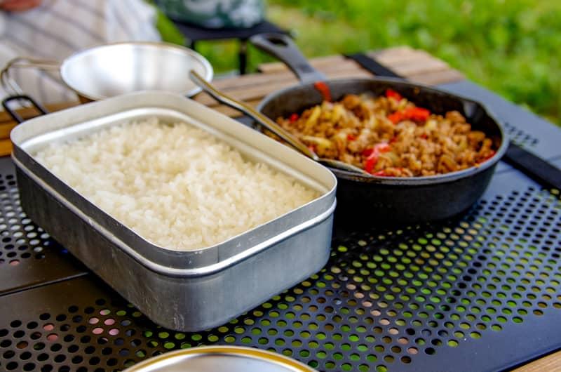 ご飯の炊き具合が完璧だった時
