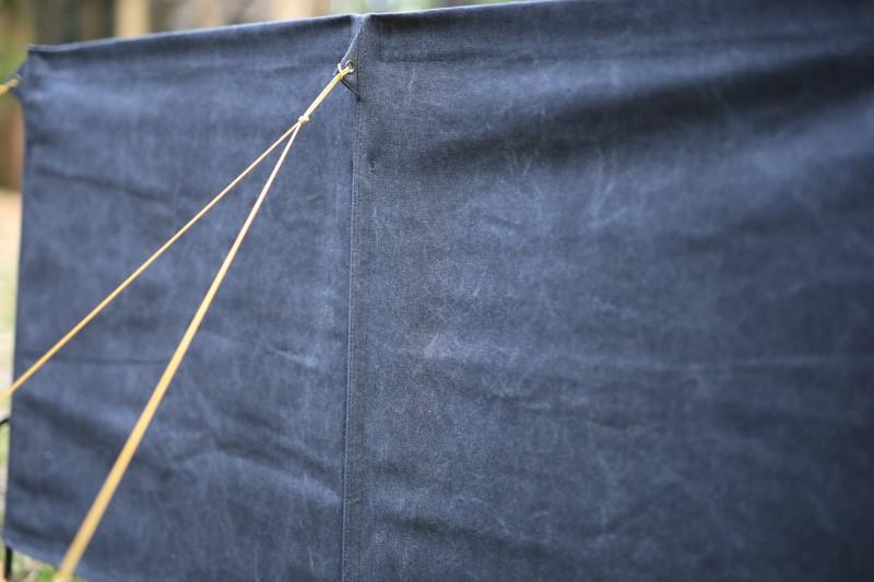 コットン100%の美しい黒染め