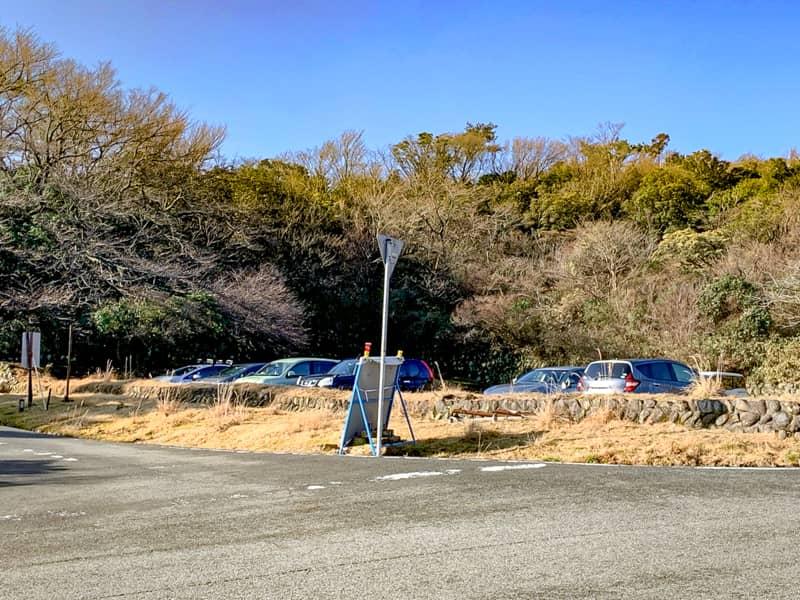 スタート地点の戸田駐車場