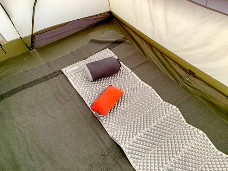 テント内の片づけを真っ先に済ませると、良いことだらけ