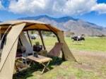 突っ込みどころ満載の愉快なキャンプ場!「ハートランド・朝霧」で牧場キャンプ