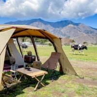 突っ込みどころ満載の愉快なキャンプ場!「ハートランド朝霧」で牧場キャンプ