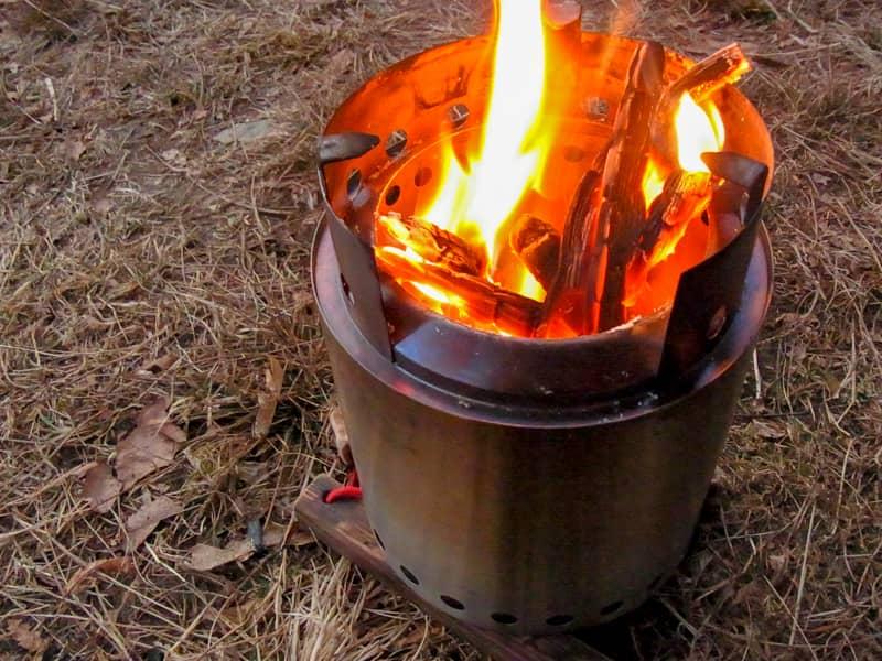 メインイベント・焚き火を楽しむ