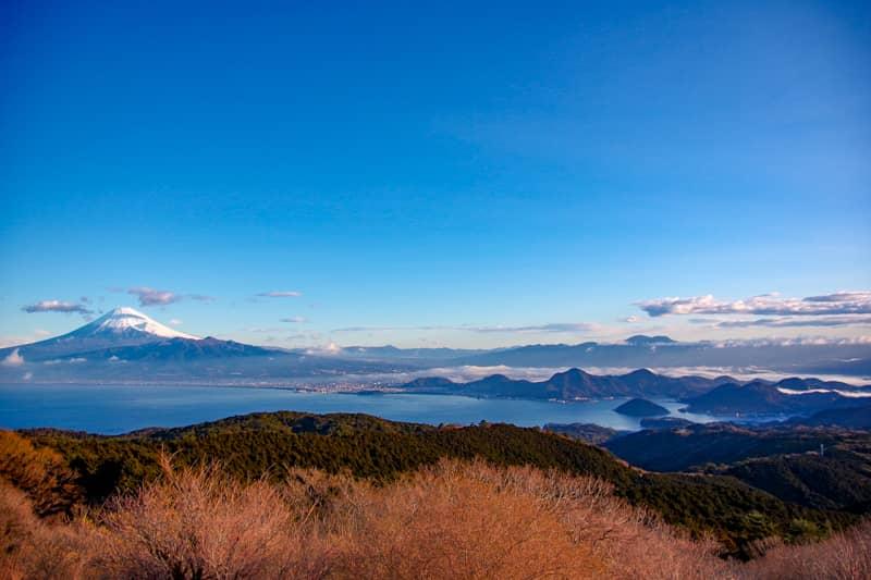 伊豆屈指の富士山ビュー