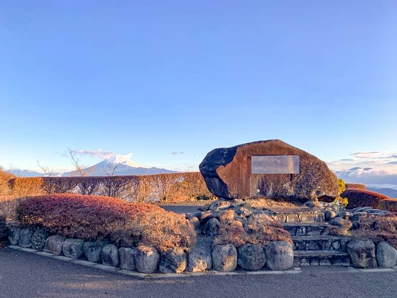 富士山の眺めは