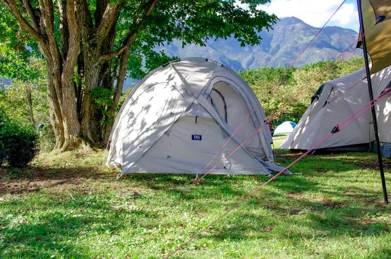 撤収時にテントが結露していなかった時
