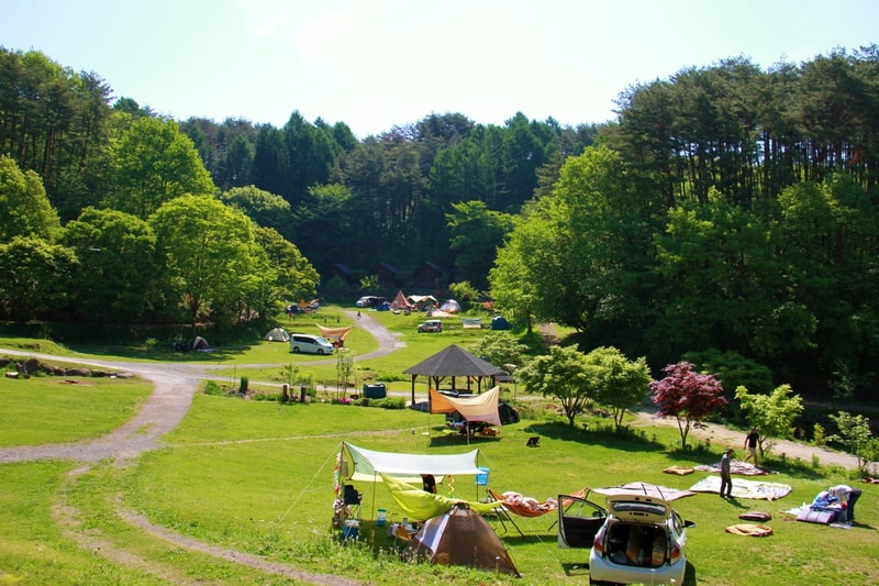 星の降る森キャンプ場のサイト紹介-2