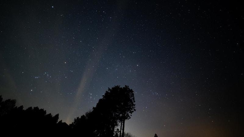 星の降る森キャンプ場の星空-2