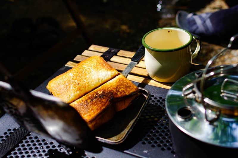 朝食はライトにまったりと
