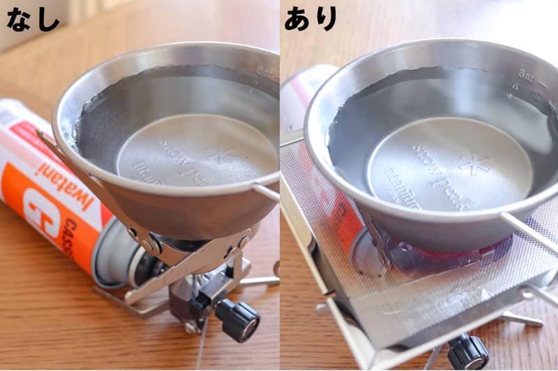 沸騰の比較検証