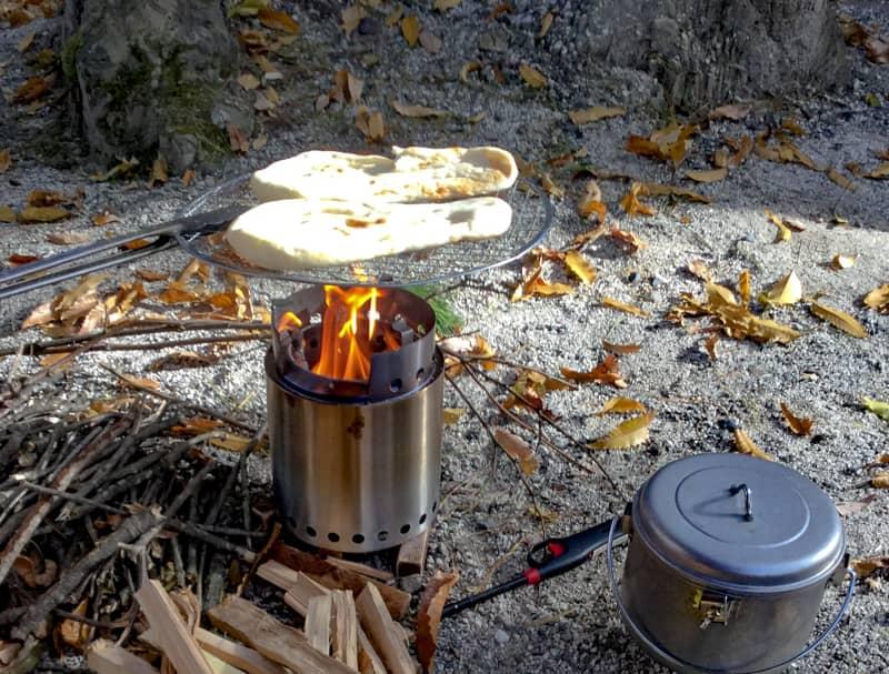 焚き火料理は次回のお楽しみに