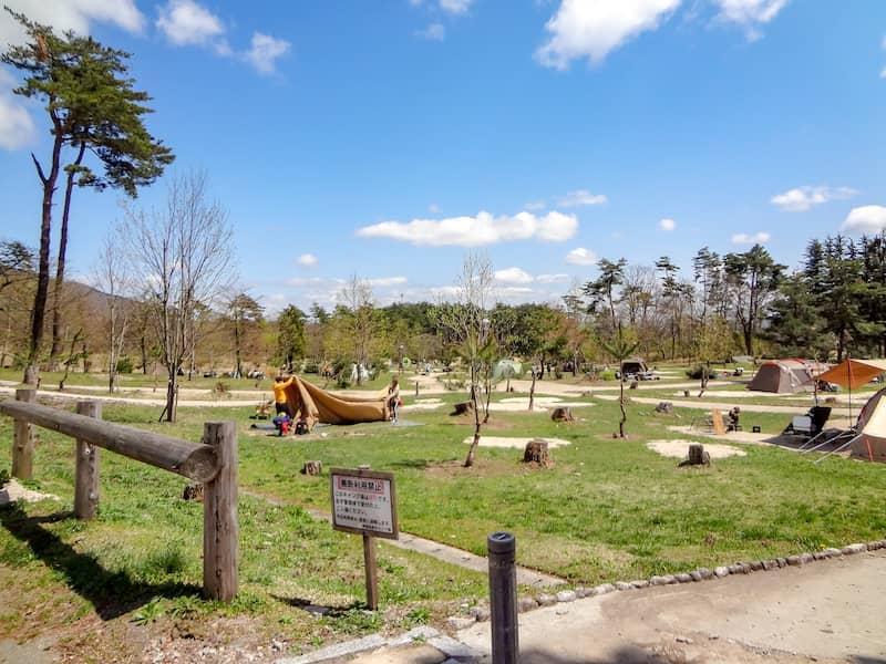 関西で人気の神鍋高原キャンプ場でキャンプ!ファミリーキャンパーがたくさん!