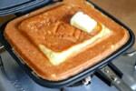 家事ヤロウで話題の「ホットサンドケーキ」を作ってキャンプアレンジしてみた