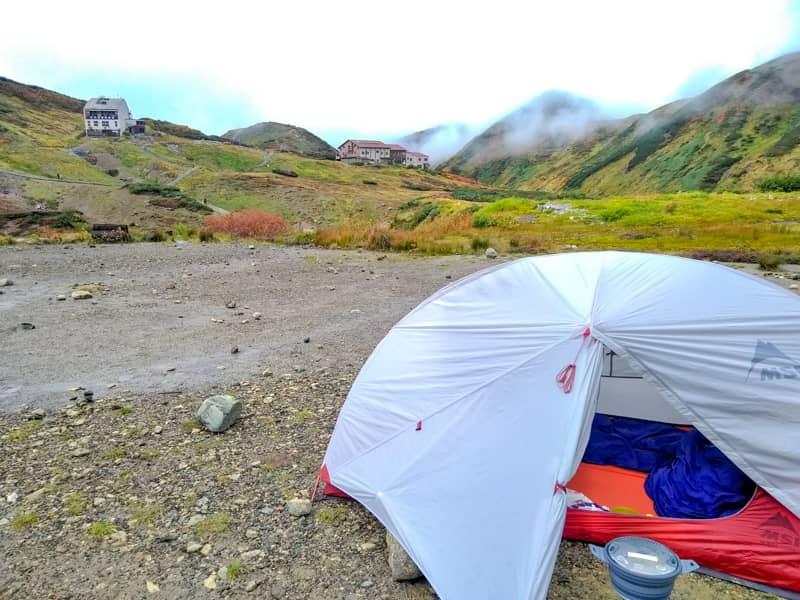ハバハバと遠くの山小屋