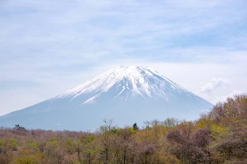 全ての場所から富士山が見えるわけではない