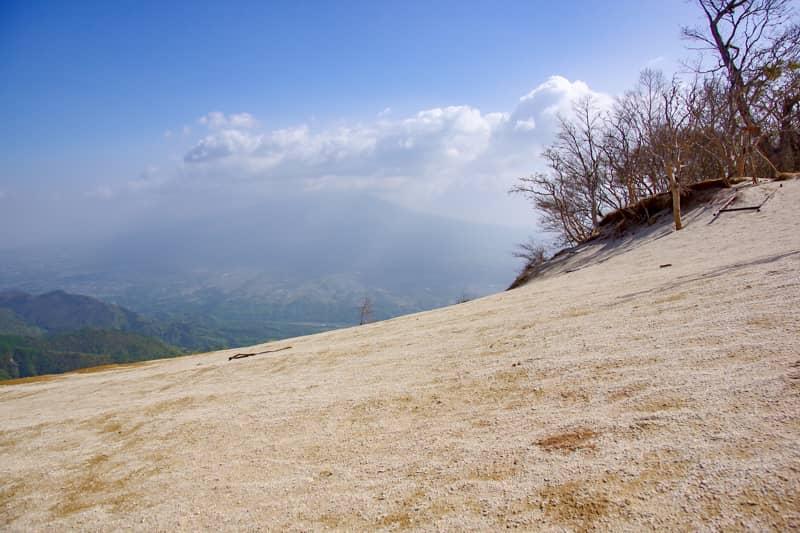 八ヶ岳の景色が素晴らしい