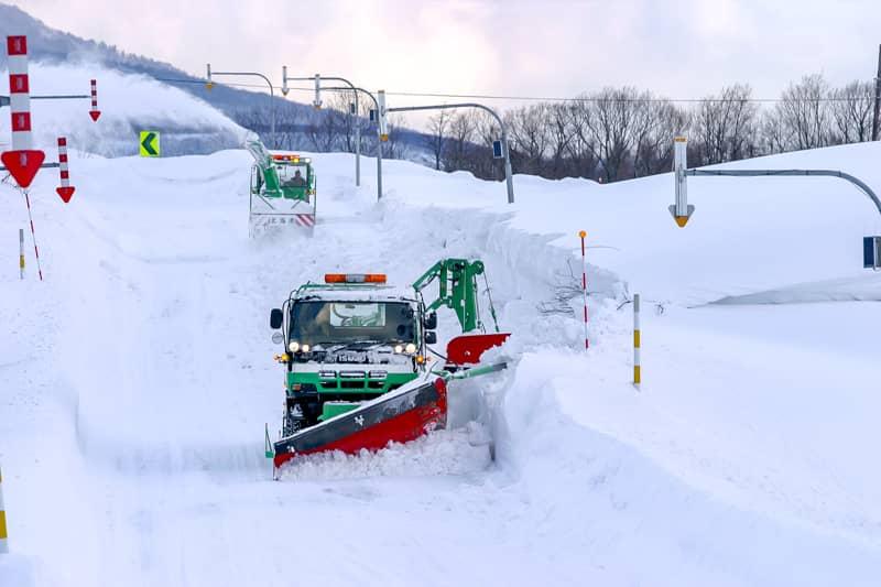 北海道の冬キャンプシーズン