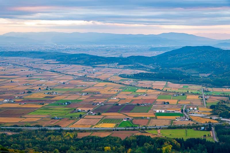 北海道の秋キャンプシーズン