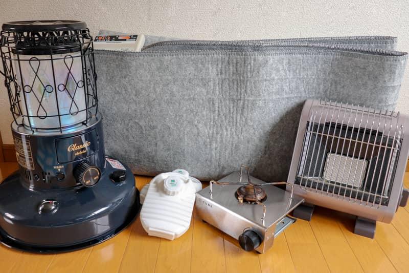 北海道キャンプ装備2