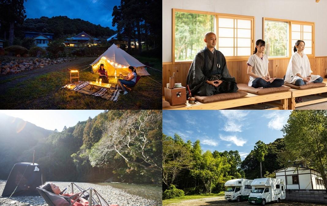 まさかの寺キャンプ!?日本初のお寺併設キャンプ場「Temple Camp大泰寺」がオープン