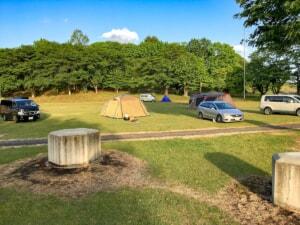 【栃木県】湯けむりふれあいの丘ゆーゆーキャビン&キャンプ場で雨の車中泊をしてました