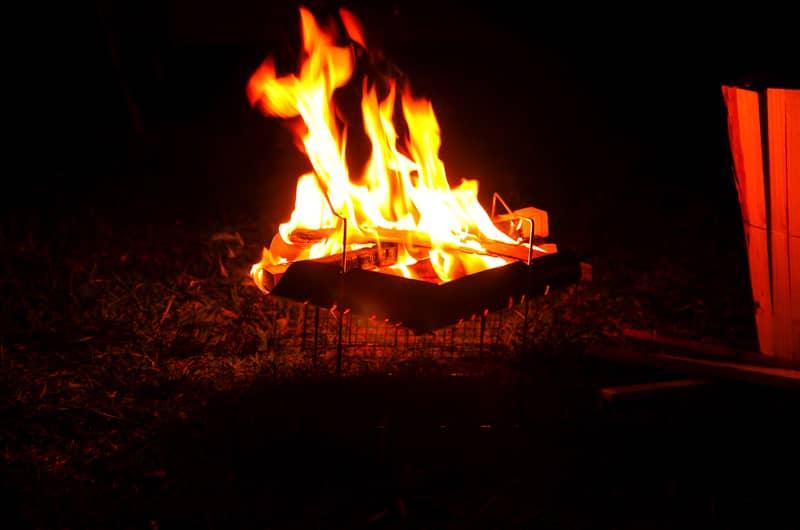 焚き火ルールがある