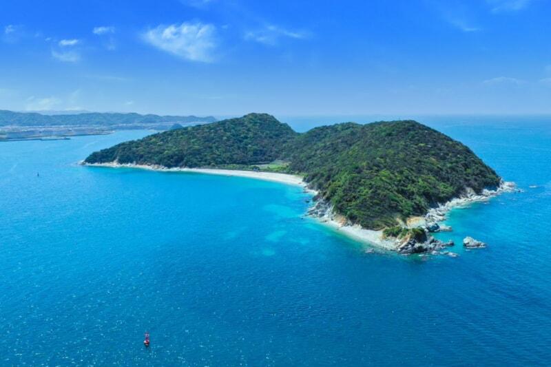 1日1組限定!無人島・地ノ島でプライベートキャンプが楽しめる新プランがスタート!