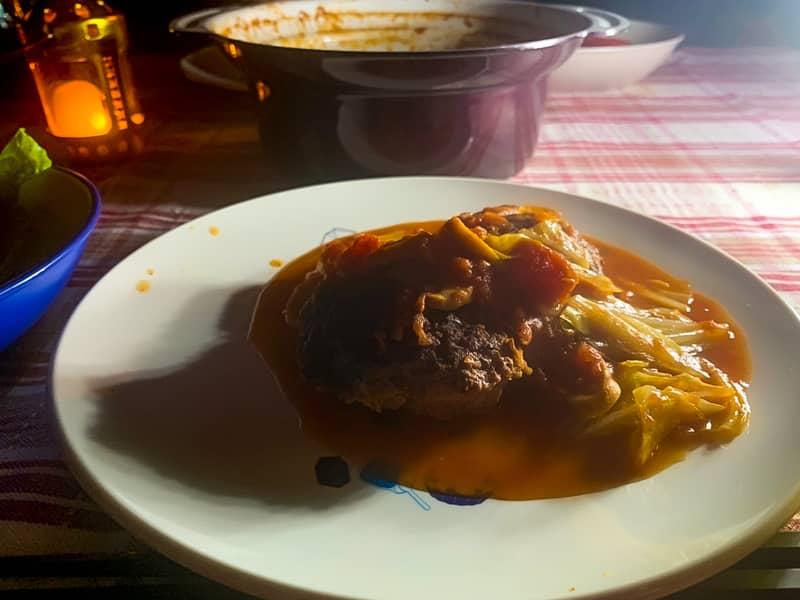 煮込みハンバーグレシピ (2)