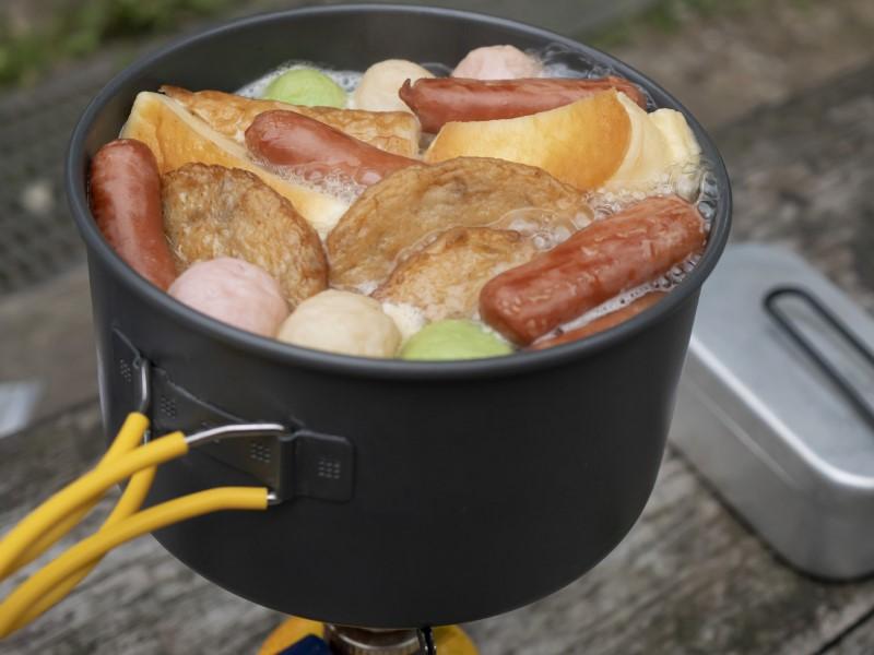 登山料理におすすめの鍋