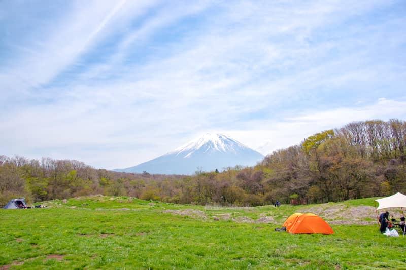 迫力の富士山ビューが素敵なフリーサイト