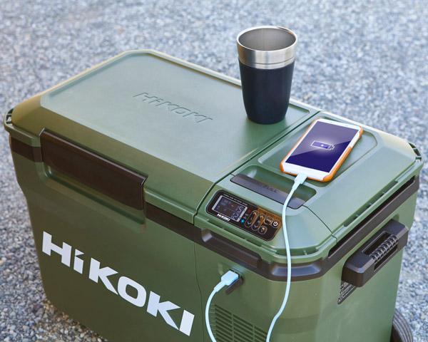 スマートフォンの充電も可能