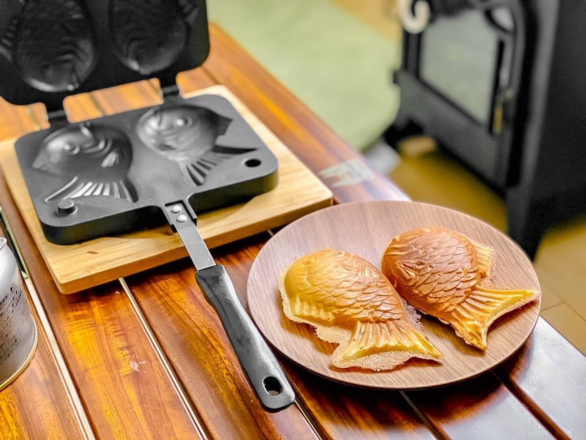 話題のニトリ「たい焼きパン」はキャンプでもおうちでも大活躍!