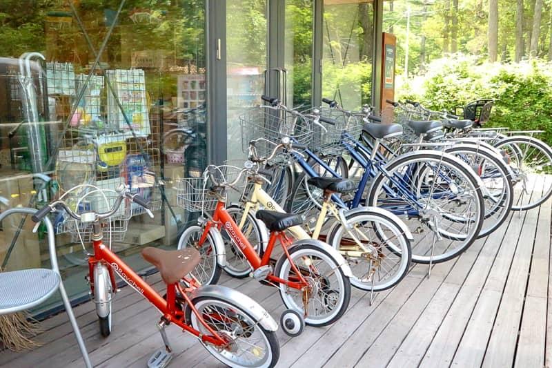 フォレストコテージ_自転車