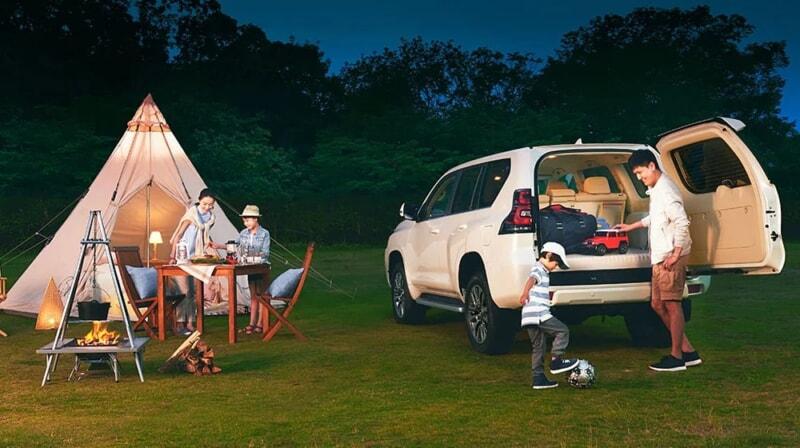 ランドクルーザープラドはキャンプ好きにおすすめの車-800x448