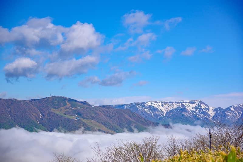 三国山からの景色